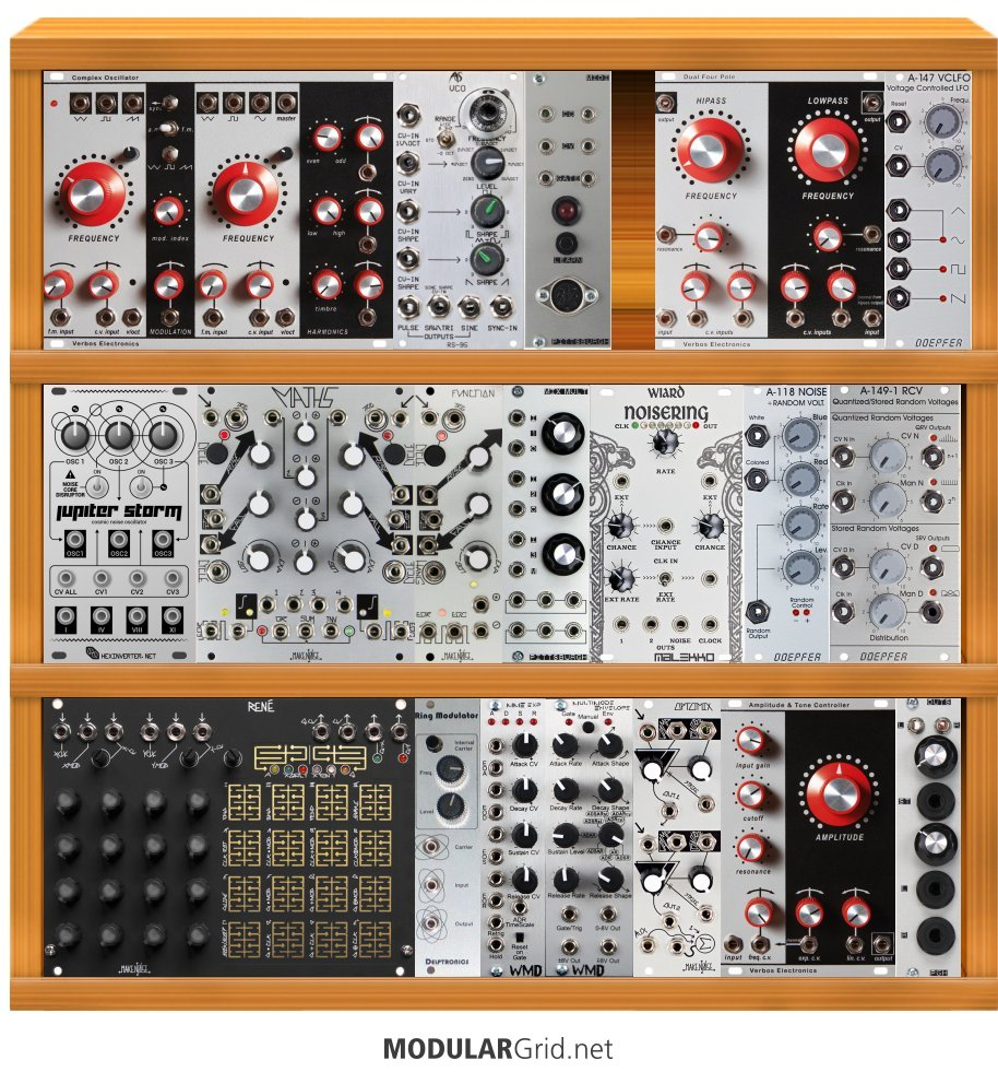 Muff Wiggler View Topic Verbos Electronics Momaey Alas Stroller Miauw Kitty I Am Looking To Set Up My First Modular And Very Interested In The Modules How Does This Look As A Starter System
