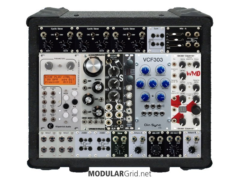 MUFF WIGGLER :: View topic - Building a really small Eurorack modular