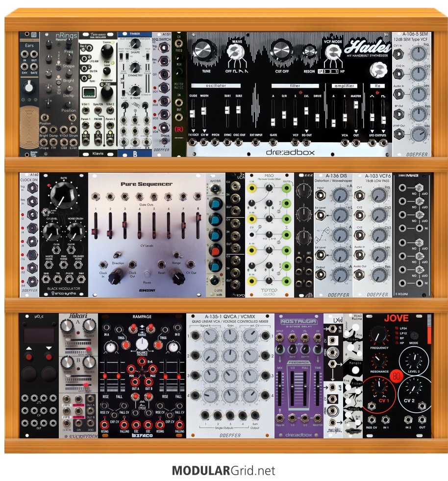 MUFF WIGGLER :: View topic - Cheap eurorack system