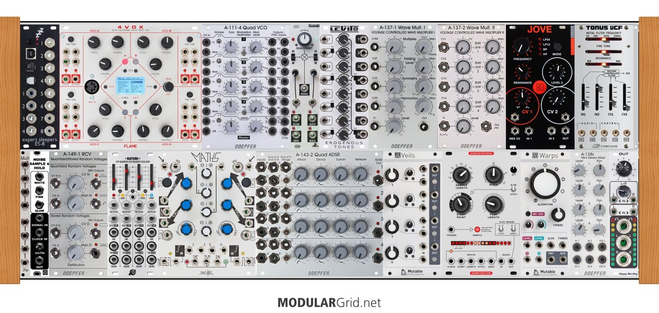 First modular VST Killer DAW Rack / Thread on ModularGrid