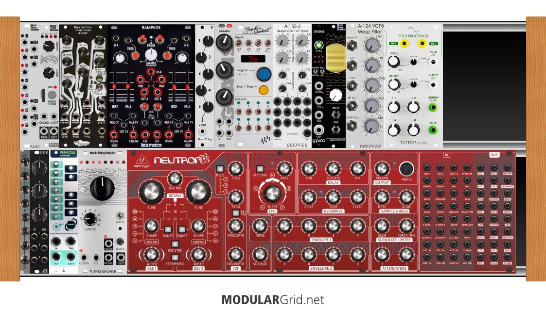 First steps and long term plan in Eurorack : modular