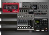 synth pedalboard