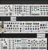 *Intellijel 104hp 4U x3 - Mutable System (current)