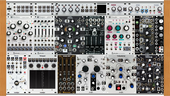 Intellijel 208 Rack Noise Jams v3 used for Avant Mic first gig