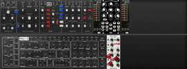 My Eurorack behringer go 140hp (copied from polarko) (copied from sevenmunsters)