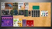 My righteous Pedalboard