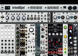 62HP Intellijel Pallette Minimum Viable Party 1 (Suggested Systems Video II) (copied from mylarmelodies)