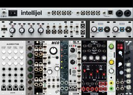 62HP Intellijel Pallette Minimum Viable Party - mylarmelodies