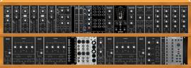 Moog/Behringer clone Emmerson Eurorack 2/2