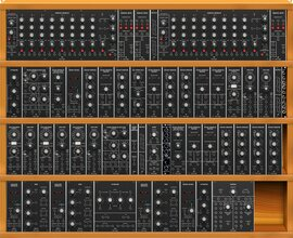 Moog IIIP interpretation with behringer modules,substituting the 912 for a steady state fate with Emerson Moog sauce (copied from kurkesmurfer) (copy)