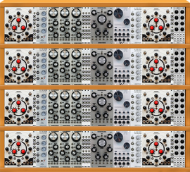 My tight Eurorack (copied from RageCrage)