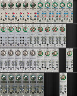 My fronded Eurorack