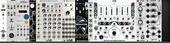 Make Noise 3U skiff (unpowered - using 1/3 4MS power)