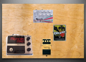 My tactless Pedalboard