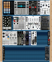 My fabled Eurorack (copied from reinalter)