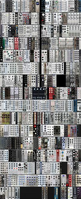 My Actual Eurorack™ 33U (2 x 9U, 2 x 6U, 1 x 3U, 2 x Cell48, 4 x Minicases) + UNUSED (5/2021)