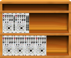 My trochal Eurorack (copied from squire80513)