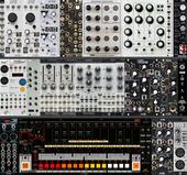 Actual Rack full (analogue voice 9U)