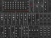 Moog 35 Behringer custom set-up 3x104hp