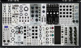 My sheltered Eurorack (copied from wiggler58576)