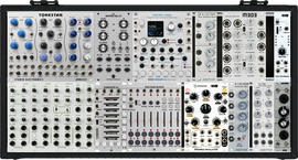 Tiptop Manti Main All White Case 6U 104HP  ( Other modules or sequencer options)