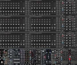 Analogue Sequencer Bank (12U124)