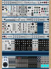 Intellijel 104hp 4U x4 (Planned)