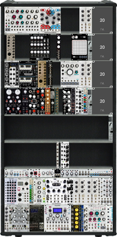 Current Module Collection / Layout of Intellijel Case