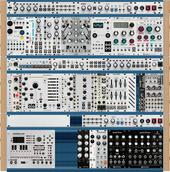 Intellijel 104hp 4U x3 (Archive 20180701)