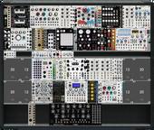 "Current Module Collection - Custom ""AKAI"" case + Intellijel 7U Case + M32"