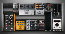 My contained Pedalboard