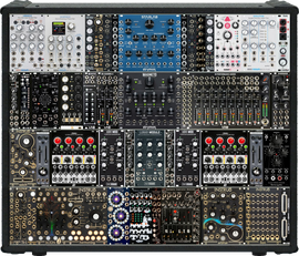 My Dreamy Eurorack Controller / Mixer / Filter / FX MDLR case