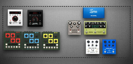 Synth and drum machine effects