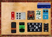 My mousey Pedalboard