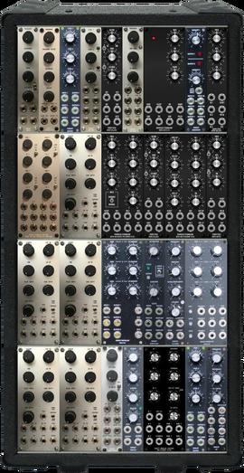 der blaue 4x10U II  (power test)