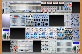 My sequined Buchla