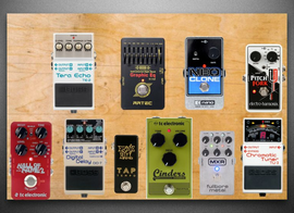 My unboned Pedalboard