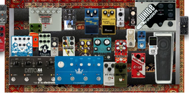 My thriftless Pedalboard