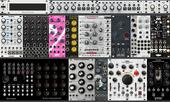7u 104hp Synth Rack Black Sequencer